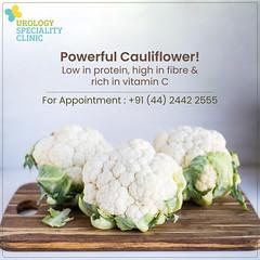 Health Tips - Powerful Cauliflower (urologyspecialityclinic) Tags: cauliflower cauliflowerhealth cauliflowerhealthbenefits cauliflowerhealthfact healthtips healthfacts powerfulvegetable vitaminc fiber heartdisease hearthealth nutrients