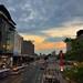 台北街頭在台北101附近