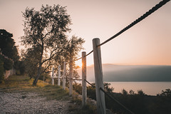 Iron willed, I pave my way (b_represent) Tags: gardasee lakegarda lagodigarda sunrise morning moody