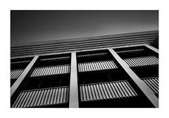 stripes' symphony (Armin Fuchs) Tags: arminfuchs lavillelaplusdangereuse würzburg stripes anonymousvisitor diagonal niftyfifty tristesse urbantristesse