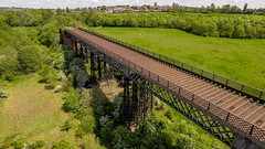 Bennerley Viaduct (chrisnadollek) Tags: nottingham england unitedkingdom viaduct railway