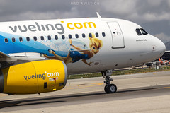Airbus A320-232 EC-MLE Vueling (msd_aviation) Tags: a320 airbusa320 a320200 tinkerwell vueling vuelingairlines bcn lebl barcelona elprat airport joseptarradellas ecmle aviation aviation4u aviationpics aviationphotos aviationfans aviationlovers spotting spotters planespotting planespotters airplanes aircraft