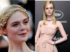 US actress, Elle Fanning pass out due to a 'tight dress' she wore (baydorzblogng) Tags: nigeria news africa international celebrity gists other education fashion
