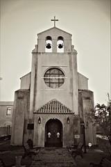 House of God (Carlos A. Aviles) Tags: church iglesia religion catolica catholic arquitectura architecture poncepuertorico ponce blackandwhite blancoynegro monochrome sepia