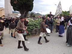 250ème anniversaire de la bataille de Ponte Novu (Vincentello) Tags: 250èmeanniversaire bataille battle pontenuovo pontenovu bandera drapeau flag tambour drum fusil gun rifle