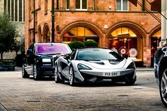 Contrasting British Duo (Supercar Stalker) Tags: mclaren 570s mclaren570s spider 570sspider rollsroyce ghost rollsroyceghost british supercars supercar luxury car cars london supercarstalker nikon d810 nikond810 sigma 105mm sigma105mm macro