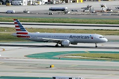 A321 N180US Los Angeles 27.03.19 (jonf45 - 5 million views -Thank you) Tags: airliner civil aircraft jet plane flight aviation lax los angeles international airport klax american airlines airbus a321 n180us