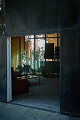 DSC07829 (apocapocbcn) Tags: spring sun facade street black door
