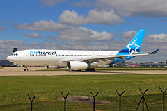 C-GPTS 4 Airbus A330-243 Air Transat MAN 21MAY19 (Ken Fielding) Tags: cgpts airbus a330243 airtransat aircraft airplane airliner jet jetliner widebody