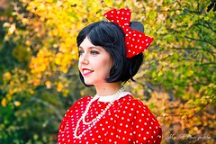 Minnie (arrif-mehdi) Tags: cosplay minnie mickey disney costume deguisement modele young girl portrait love colors magic magique univers enfance enfantin mignon mignone kawai pretty meh photographie beautiful amazing red