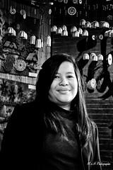 Line (arrif-mehdi) Tags: femme asiatique viet vietnam vietnamienne portrait photo visage asia asie asian meh photographie beautiful amazing noir et blanc face modele picture