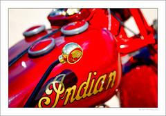 Gear change (G. Postlethwaite esq.) Tags: 1945 dof derbyshire heage indian unlimitedphotos vtwin bokeh classicbikes depthoffield gearlever motorbike motorcycle photoborder selectivefocus windmill