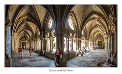 Claustro catedral de Oporto (Rafael Cejudo Martinez) Tags: panoramica claustro catedral oporto