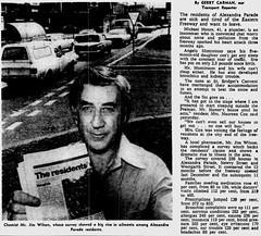 Nov1978No13 (mat78au) Tags: november 1978 melbourne newspaper extracts new eastern freeway pollution concern residents alexander parade mr jim wilson nov 78 melb