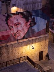 waiting (beeldmark) Tags: nacht schemering spanje catalonië gerona straatfoto catalonia catalunya cataluña españa night spain dusk twilight