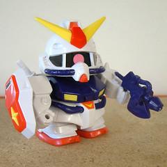 SD Gundam (The Moog Image Dump) Tags: mini figure kit sd gundam sm toy japan japanese super deformed modified kawaii chibi cute