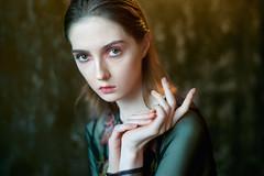 Olga (VeterSiama) Tags: sony a7 a7rii portrait портрет zeiss contax 50 14 light studio fashion
