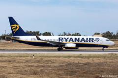 Ryanair Boeing 737-8AS  |  EI-DCG  |  LMML (Melvin Debono) Tags: ryanair boeing 7378as | eidcg lmml cn 33805