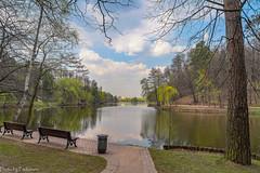 April in Tsaritsyno Park / Апрель в Царицыно (Vladimir Zhdanov) Tags: spring april russia moscow tsaritsyno park forest tree wood pond water sky cloud nature landscape