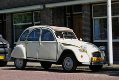 1980 Citroën 2CV 6 (rvandermaar) Tags: 1980 citroën 2cv 6 citroën2cv6 citroën2cv citroen citroen2cv sidecode7 32hrn7