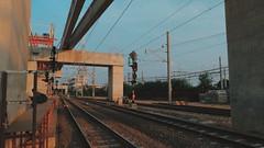 Road to home (uwi~♫) Tags: railways railway train jakarta manggarai trainstation station manggaraistation photography photograph