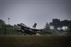 Belgium Air Force General Dynamics F-16A Fighting Falcon FA-116. NTM 2019 Mont de Marsans (Fr) Mayo 17 de 2019. (EFRAIN A. JACOME Q.) Tags: verde nato tiger meet mont marsans belgium fa 116 aircraft air force defence otan