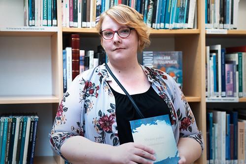 Kirjailijavieraana Marjo Lond