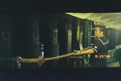 Sailor on Star Ferry (justus9427) Tags: film cinestill street hk night people life light