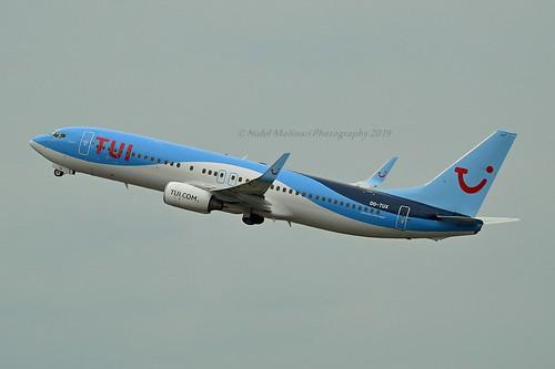 """""""Intuition"""" TUI Airlines Belgium OO-TUX Boeing 737-86N Winglets cn/35647-2927 @ LFPG / CDG 06-05-2019"""