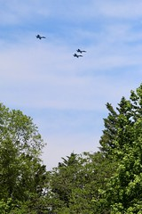 Flying Over the Neighborhood (Piedmont Fossil) Tags: annapolis maryland blueangels aircraft navy jet fighter airplane plane f18 hornet airshow naval academy commissioningweek
