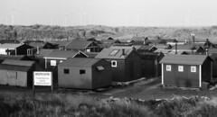 32a South Gare Fishermen's Huts, Redcar (I ♥ Minox) Tags: film 2019 olympus om1 om1n olympusom1n olympusom1 om1072 hp5 ilford ilfordhp5plus 400asa ilfordhp5 southgare redcar