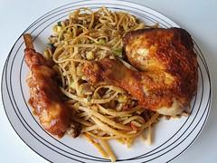 🍴 Bakmi, grilled chicken leg 🍗, chicken 🐔 satay 🍴   #foodporn #foodphotography #foodfantasy #foodpics #withGalaxy  Picture #Samsung #GalaxyS10Plus 📱 #FoodMode #OneUI #Pie ASD6 (henklbrNL) Tags: foodphotography withgalaxy foodporn foodmode foodfantasy oneui galaxys10plus samsung foodpics pie