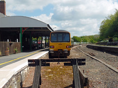 143617 & 150261 Barnstaple (2) (Marky7890) Tags: 143617 class143 pacer gwr 150261 class150 sprinter 2f39 barnstaple railway devon tarkaline train