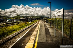 Abergele&PensarnRailStation2019.05.11-13 (Robert Mann MA Photography) Tags: abergelepensarnrailstation conwy northwales train trains railway railways station stations 2019 summer 11thmay2019 transportforwales tfwrail class175 coradia class158 supersprinter class150 sprinter
