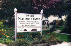 HC08269 (Community Archives of Belleville & Hastings County) Tags: 2000s signs heritage centres gardens