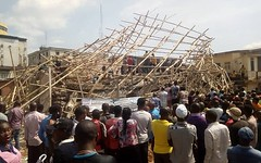 Four storey building collapses in Onitsha, six trapped inside. Photos (baydorzblogng) Tags: nigeria news africa international celebrity gists other education fashion
