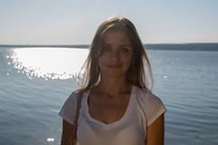 0R4A9777 (andre.pugachev) Tags: девушка женщина лето вечер река кама берег закат