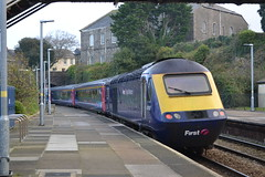 Great Western Railway HST 43190 (Will Swain) Tags: redruth 16th november 2018 gwr first group class 43 high speed cornwall south west train trains rail railway railways transport travel uk britain vehicle vehicles england english europe great western hst 43190 190