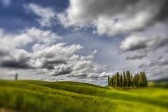 Cipressi (giannipiras555) Tags: alberi nuvole toscana verde colline cipressi natura paesaggio landscape