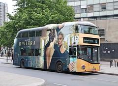 Go Ahead London Central - LT444 - LTZ1444 - Riviera (Waterford_Man) Tags: lt444 ltz1444 hybrid wrightbus nrm goaheadlondoncentral