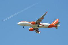 esayJet Airbus A320-251N G-UZHH - Manchester Airport (dwb transport photos) Tags: easyjet airbus aeroplane guzhh manchesterairport manchester