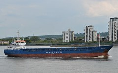 Nestor (2) @ Gallions Reach 20-05-19 (AJBC_1) Tags: riverthames gallionsreach london ©ajc dlrblog ship boat vessel england unitedkingdom uk northwoolwich eastlondon newham londonboroughofnewham ajbc1 nikond3200 greatbritain gb shipping seatrade seacargo ukshipping generalcargoship wesselsreedereigmbhcokg generalcargo nestor imo9390123 mmsi305620000 callsignv2fb3