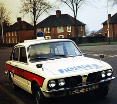 TRIUMPH DOLOMITE 1854cc POLICE CAR LEICESTERSHIRE CONSTABULARY EJF355L (Midlands Vehicle Photographer.) Tags: triumph dolomite 1854cc police car leicestershire constabulary ejf355l jam sandwich