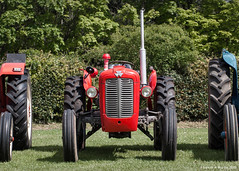 """Gareth's Photo of the Week 19 """"Red Tractor"""""""