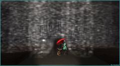 Sous la pluie (Tim Deschanel) Tags: tim deschanel sl second life art exploration bryn oh the standby trilogy immersiva lapin rabbit pluie lampadaire rain