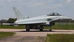 ZK435/435 TYPHOON 3sqn RAF (MANX NORTON) Tags: raf coningsby egxc tornado hawk tucano qra typhoon eurofighter zk435435