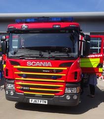 Derbyshire Fire & Rescue Service (FJ67 FTN) (ferryjammy) Tags: fire fj67ftn derbyshire