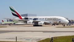 A6-EER | Emirates | Airbus A380-861 (geoff487) Tags: londonheathrowairportlhr heathrow egll emirates uae ek a6eer airbusa380861 airbusa380 airbus superjumbo doubledecker unitedforwildlife