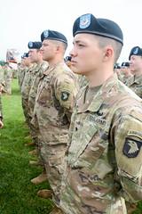 "190522-A-WV398-88 (Fort Campbell) Tags: weekoftheeagle2019 woe2019 woe 101stairbornedivisionairassault 101stsustainmentbrigade 3rdbrigadecombatteam""rakkasans"" 101stcombataviationbrigade 1stbrigadecombatteam 2nd brigade combat team fortcampbell us army air assault 129thcombatsustainmentsupport 129thcssb 101stspecialtroopsbattalion divisionreview screamingeagles"