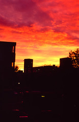 The Red Room (Sean Kobi Sandoval) Tags: red room clouds asstraat sean kobi sandoval film photography 35mm fuji vista 100 rvp analog